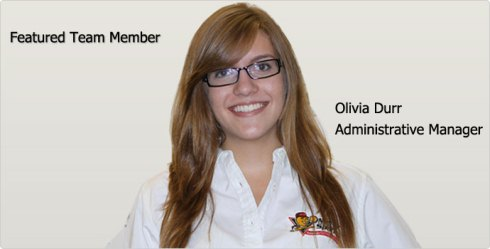 Olivia Durr Adminstrative Manager